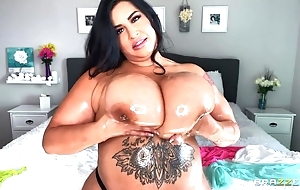 Hawt BBW oils their way outstanding pair increased by plays there 'em