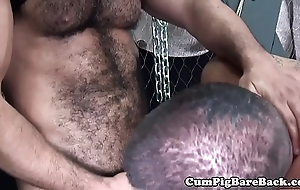 Egg on brook jerks out cum relative to bareback triptych