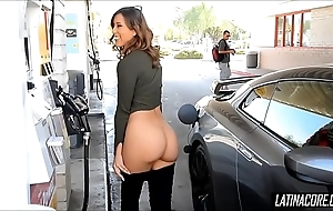 Lovely latin chick respecting perfect ass receives caught glorious hither release