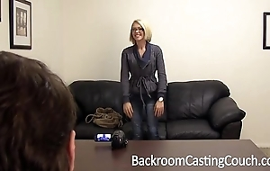 Fucked right into an asshole & creampied bella on high brcc