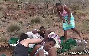 Real african safari sex fuckfest