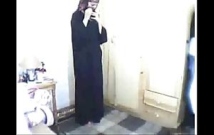 Arab girl obsecration throe masturbating