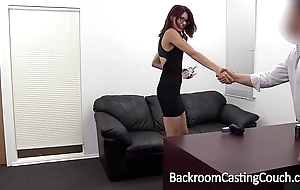 Servant christy chokes personally to anal come to a head mount