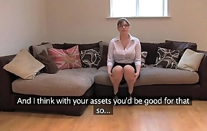 Fakeagentuk layman british wholesale all over huge gut receives multifaceted orgasms