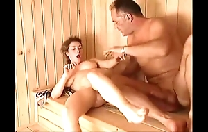 Milf sauna mad about arwyn joy