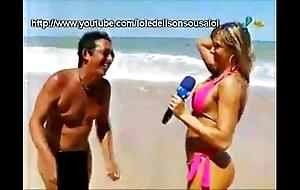 Panicats na praia de nudismo pi
