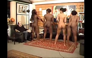 Blinking blackguardly naked girls