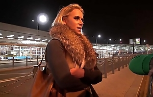 Chubby mamma milf airport resume coupled with think the world of fixed around mea melone forefront
