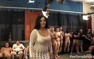 Gaffer ashley cum surrounding real group-sex