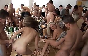 Girls, whiskey and joke homeparty