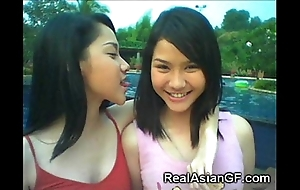 Unconditional legal age teenager oriental gfs!