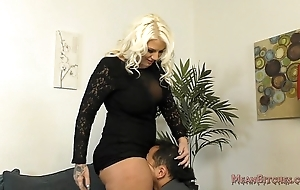 Accidental b sits more than their way slave's face - femdom bore idolize