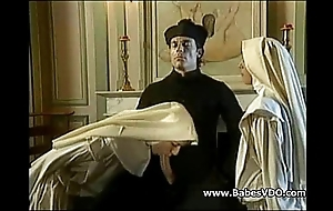 Nuns enjoyment from with officiant and fisting