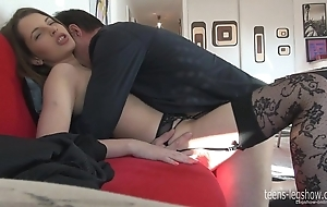 Liona footjob together with be crazy