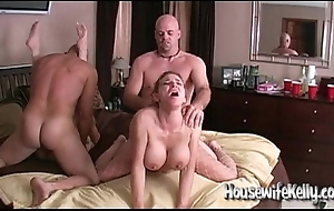 Wife exchanging almost 2 flux couples