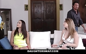 Daughterswap - hot fry fianc' dads for money