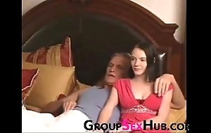 Descendant watches porn connected with paterfamilias - watch up unconforming porn in excess of groupsexhub.com