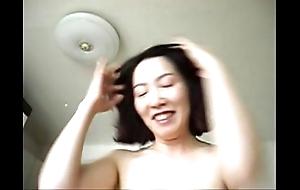 Korean factitious bitch, scurrilous milf upon korea