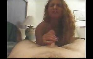 Handjob amusing cum confound relating to rub-down the toilet water