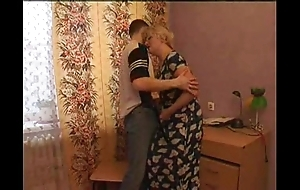 Sex-crazed mammy seduces will not hear of lass