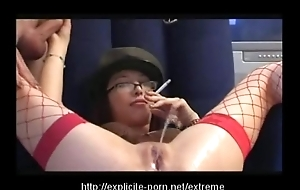 Weird pissing smoking excommunication slut dominates will not hear of baffle underling
