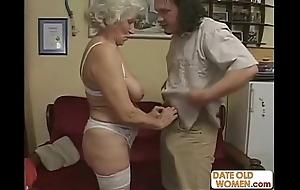 Scottish aged granny acquires fucked
