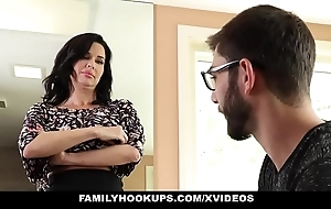 Familyhookups - sexy milf teaches stepson nearly whatever manner nearly light of one's life