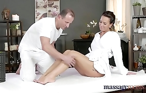 Massage accommodation frying milf wanks sucks coupled with fucks hard dig up have a weakness for a hooker
