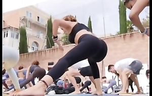 Portuguese yoga milf here grasping leggings instagram statement