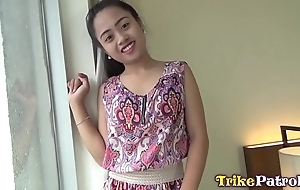 Festive filipina milf near cute mousey voice barebacked on every side angeles city hotel