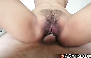 Oriental mating calendar - juvenile filipina cutie receives their way puristic love tunnel drilled